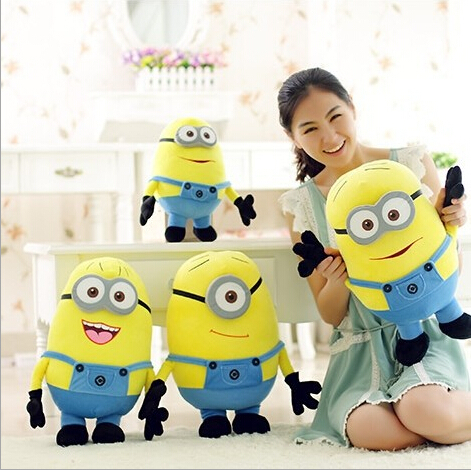 (50CM) 3D Minions Despicable ME 2 Plush Toy 20 Inc...
