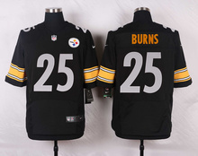 Pittsburgh Steelers #50 Ryan Shazier Elite White and Black Team Color high-quality free shipping(China (Mainland))