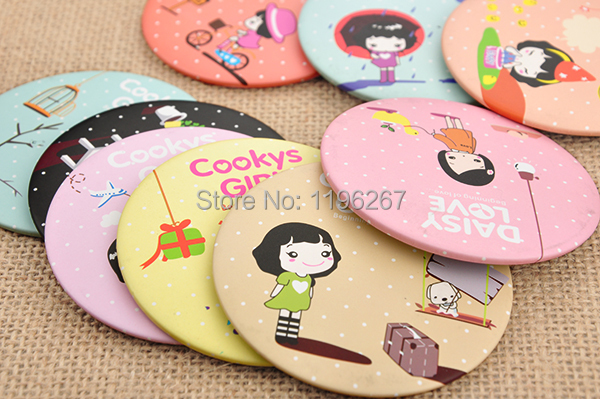 Baby return gifts ideas : New pcs lot cartoon girl mirror baby shower return gifts