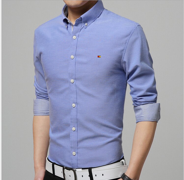buy men 39 s long sleeve shirt 2015 men