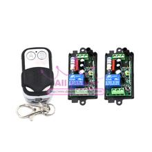 Ac 220 В 1CH 2 приемник и 2 кнопки 1 шт. дистанционного управления беспроводная трансивер