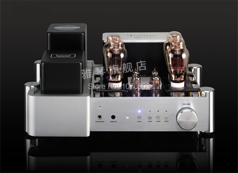 YAQIN MS-2A3 Integrated amplifier vacuum tube push-pull amplifier 2A3Cx4 Pre-amp SRPP 2x10W 110V ~ 220V headphone amplifier(China (Mainland))