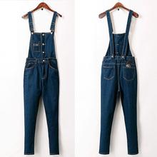 2016 new slim Jumpsuit winter cowboy Korean fashion student summer female Bib pants 1156