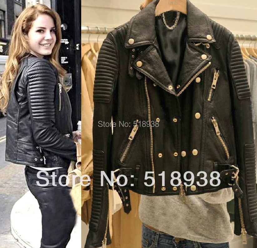 Leather Biker Jackets For Womens - Jacket