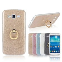 Buy Bling phone case Samsung Galaxy grand 2 duos G7102 G7106 Soft Shinning Ring stand Glitter Protective back cover for $1.97 in AliExpress store