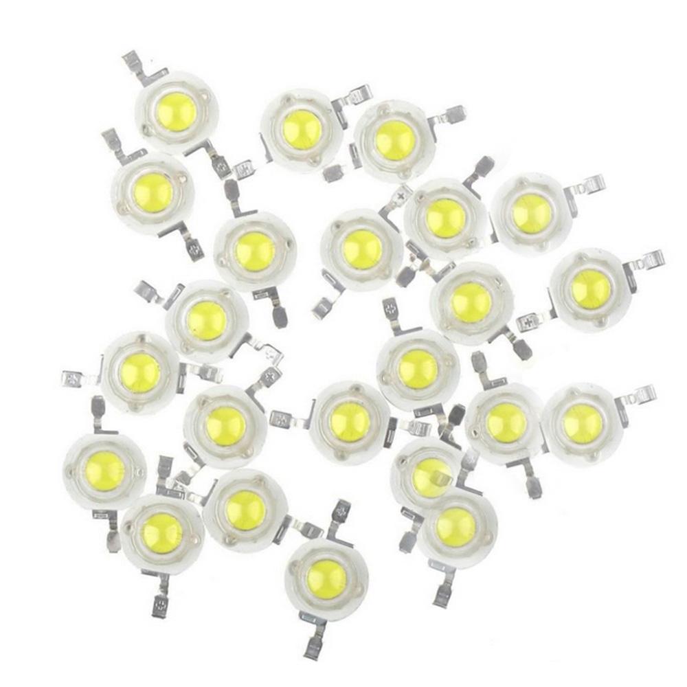 50pcs/LOT 3W Warm Natural Cool White 3500K 4500K 6500K 15000K LED Bead diodes light lamp part<br><br>Aliexpress