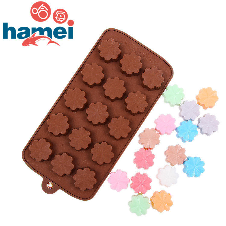 Clover nonstick chocolate molds silica gel hand soap mold Mold ice maker form for ice cream frozen tool(China (Mainland))