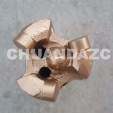 56mm 3 wings whole piece pdc drill bit for sandstone drilling(China (Mainland))