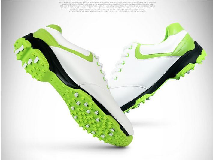 2015 men golf shoes NEW Counter genuine PGM top qualtiy Golf Shoes waterproof Mens no spikes handmade Golf shoes