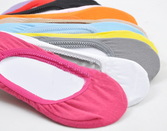 Retail Women Invisible ankle lace Socks Slippers Cotton Shallow Mouth Summer Brand Sock Thin Solid Color Female Sock