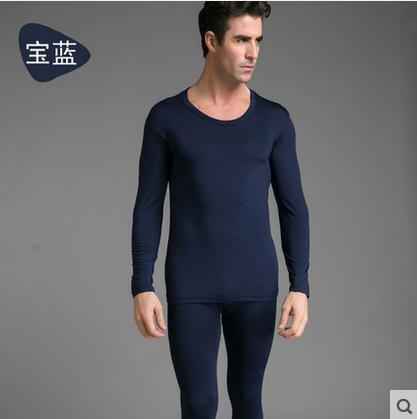 Men tights plus size tops pants cotton wool cashmere thin sexy winter fall mens thermal underwear sets male Long Johns set XXXL(China (Mainland))