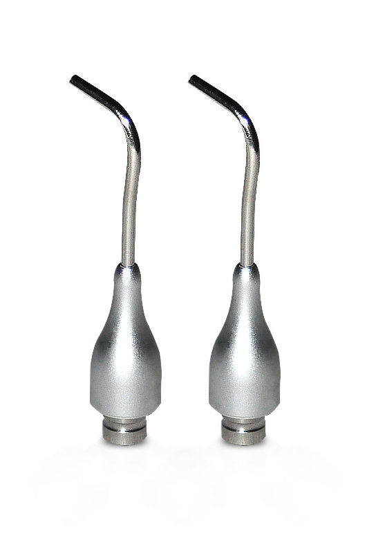 2 pcs Autoclavable Spray Nozzles For Dental Scaler Air Polisher Tooth Prophy Jet(China (Mainland))