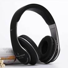 2016 Black Twistable Headband Wireless Bluetooth Headphones With Microphone 3D Surround Sound TF Card Mp3 Player Headphones 211B(China (Mainland))