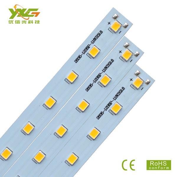 Здесь можно купить  DIY  lighting silver aluminum PCB LED module 20w 2835 smd 36v for 1.2m tube warm & cool white 50pcs/lot wholesale free shipping  Свет и освещение