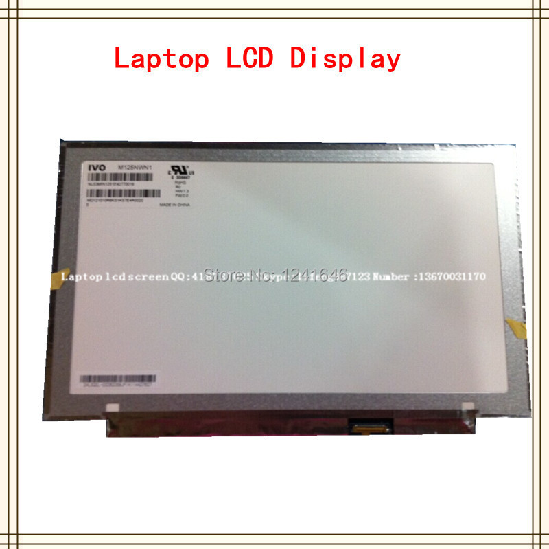 12.5 Laptop led screen For Lenovo X230S X240S LP125WH2 TPH1 ...
