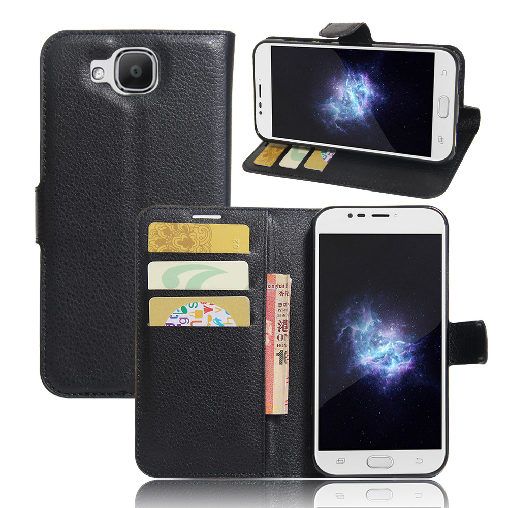 Doogee X9 Mini Case,Luxury Wallet PU Leather Flip Cover For Doogee X9 Mini 5.0 Inch Phone Case Bags With Stand And Card Holder(China (Mainland))