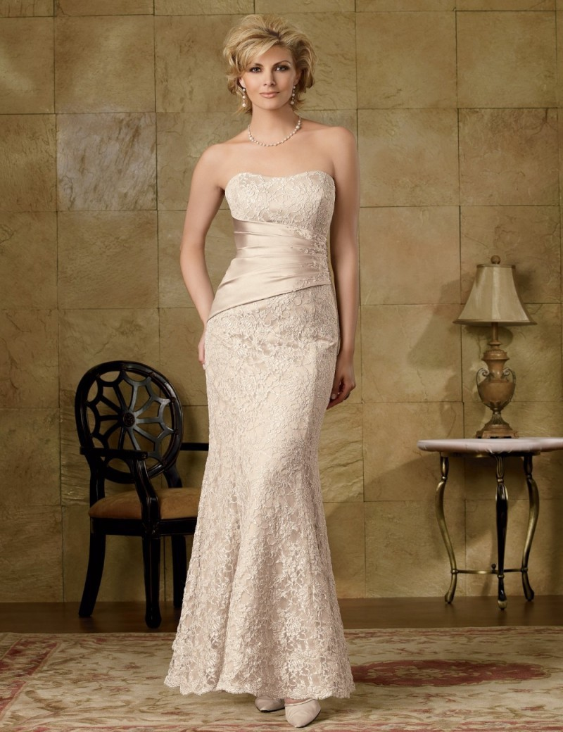 2014 best selling wedding guest dress elegant champagne With champagne dress for wedding guest