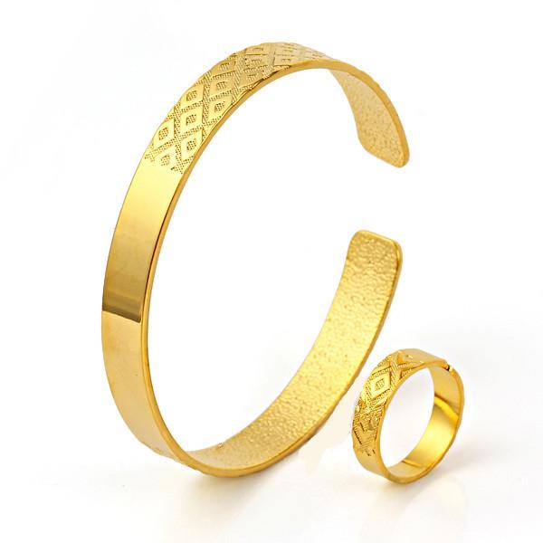 Bangle Bracelets Gold Men 39 s Cuff Bangle Bracelet