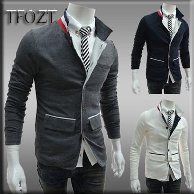Nrand New Arrival Leisure Mens Blazers Korean Fashion Slim Fit Fashion Casual Linen Mens Suit Blazer Mens Jacket coat 9013(China (Mainland))