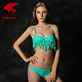 2016 Female Push Up Bikini Brazilian Swimwear Sexy Women Bikini Set Women Biquini Punk Swimsuit Lady