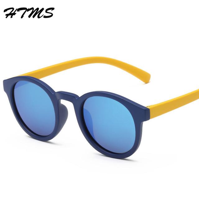 Классические детские ребенок дети поляризованных солнцезащитных очков безопасность детей покрытие TR90 UV 400 объектив мода оттенки óculos de sol