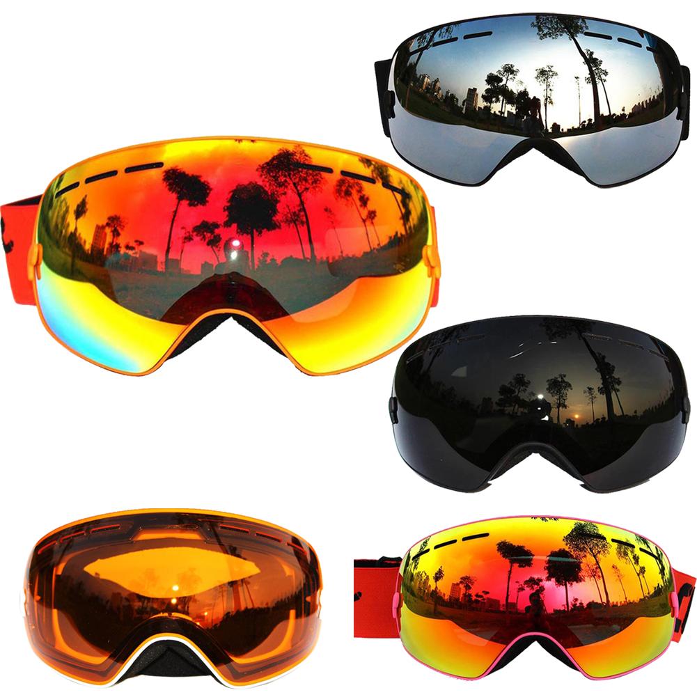 FE#100% New COPOZZ Professional Unisex Ski Glasses Double Lens Anti-fog Spherical UV400 big Skiing Eyewear Goggles DropShipping <br><br>Aliexpress