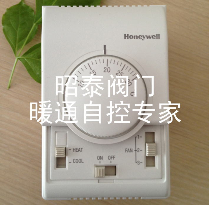 T6373Bc1130 mechanical thermostat central air-conditioning fan coil control switch T6373B1130(China (Mainland))
