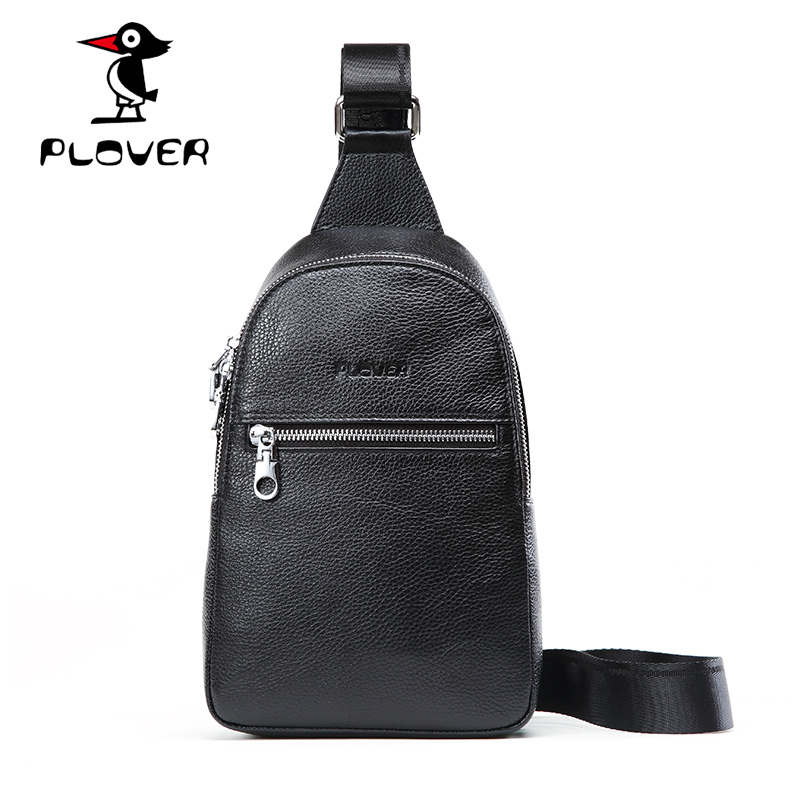 2016 hot sale PLOVER bags genuine leather very popular among young people simple and thin(China (Mainland))