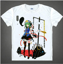 HOT! Anime Touhou Project T-shirt Casual Costume summer short sleeve men women t shirt