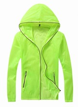 Men's jacket > thin section Men and women is prevented bask in breathable jacket unlined upper garment of coat Tourism outdoor