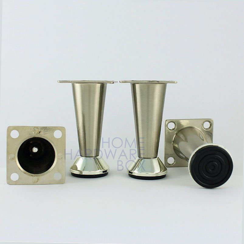 """metal table legs furniture cabinet stand stainless steel feet 3"""" 80mm(China (Mainland))"""