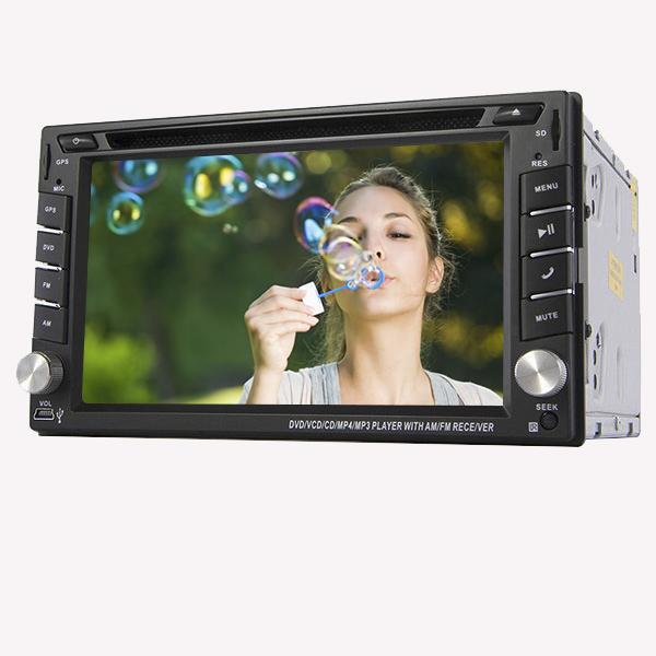 6.2 Inch in-dash GPS Navigation CAR DVD Player HD TouchScreen Car Radio 2DIN Car Stereo Player Bluetooth iPod MP3+Free Camera(China (Mainland))