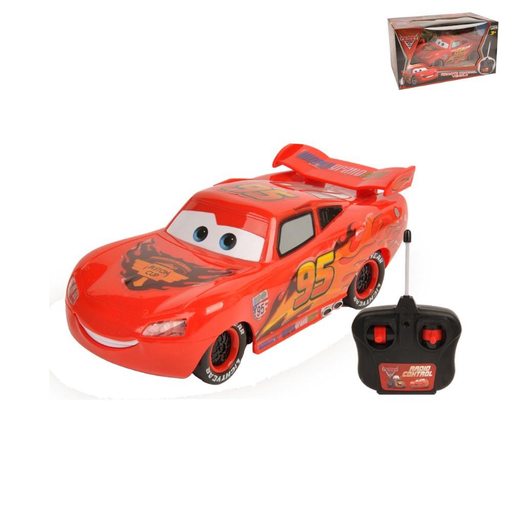 Pixar CARS 2 RC Radio Remote Control Lightning NO.95 Car w/Lights New in Box<br><br>Aliexpress