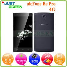 UleFone Be Pro MTK6732 64bit Quad Core 5.5 inch 720P 2GB RAM 16GB ROM 13.0MP Camera Dual SIM 4G FDD LTE Android 4.4 Smartphone