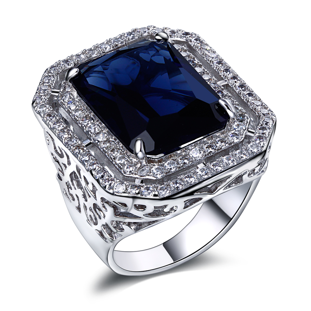 Sales Promotion New designs Women jewelry rings Cubic Zirconia Platinum Plated Wedding party Dress jewelry Womens Rings()