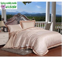 2015 hot 100% cotton solid color embroidery bedding sets  luxury bed linen set bedding set brand duvet cover-bed quilt king(China (Mainland))