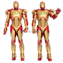 "Buy Super Heroes Avengers Iron Man 3 Mark 42 PVC Action Figure Collection Model Toy 7"" 18cm IR001 for $14.78 in AliExpress store"