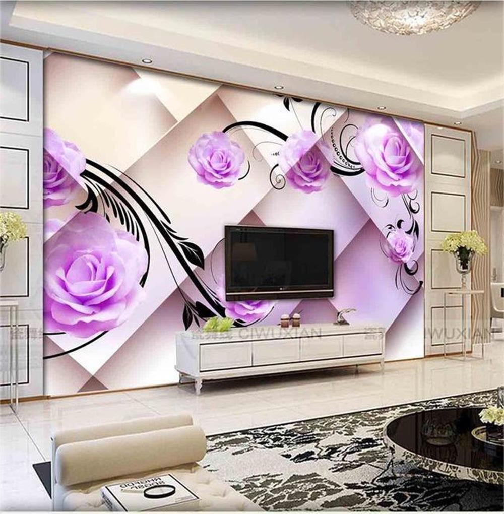 3d wallpaper custom photo hd mural 3d rose romantic only for 3d rose wallpaper for bedroom