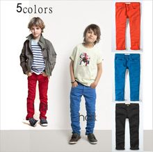 New arrival 2015 Spring Autumn Brand Fashion Children boys girls Cotton pants fit for 3 9