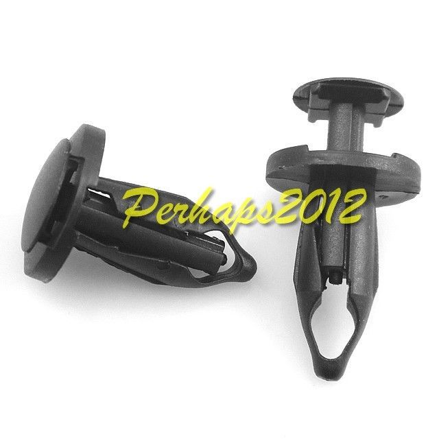 20x GM 21077123 Saturn 1991 Wheel Opening Moulding push-type Clips