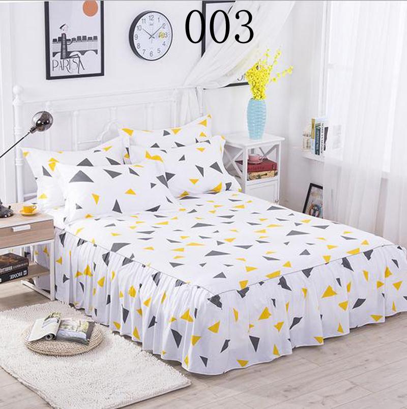 Meteor Shower Bed Skirt Twin Full Queen Size Bedspread Bed Sheet ...