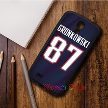 rob gronkowski jersey 4 cell phone case cover for Samsung Galaxy s3 s4 s5 note3 note4 s6 s7 *gG557(China (Mainland))
