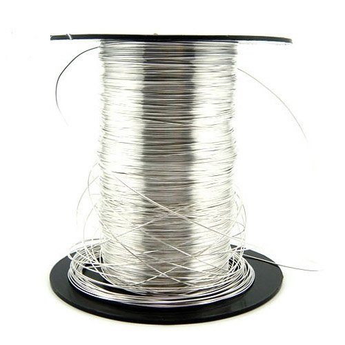 Free Shipping 3meters/lot 925 Sterling Silver Wire For DIY Jewelry 0.5mm XS006*