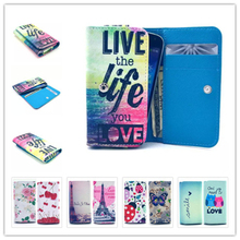 2016 Hot Dirt-resistant Painting Leather Phone Cases ZTE Blade V7 Lite Wallet Style Card Slot Cover Case - Shenzhen GZY Technology Co., Ltd store