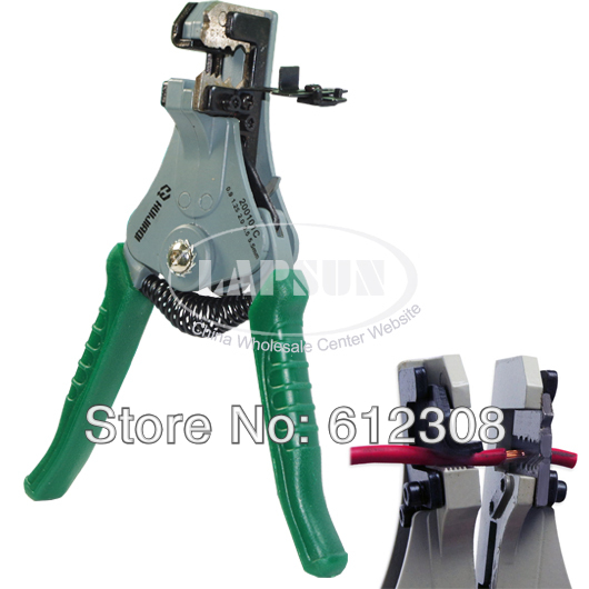 Professional Automatic Wire Cable Stripper Cut Cutter Insulation 20010C AWG 17 16 14 12 10 Section area 0.9 1.25 2.0 3.5 5.5 mm2(China (Mainland))