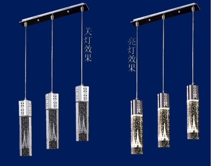 Restaurant Dining Room Lamp Table Lamp Table Lamp Led Ceiling Bar Bubble Bar Column Cfl(China (Mainland))