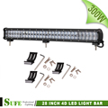 SUFE 28 INCH 4D 300W LED Light Bar For Off Road Truck Tractor 4X4 SUV ATV
