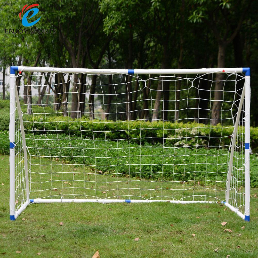 "6"" x 4"" Football Soccer Goal Post+Net Outdooor Ball Training Sets Practice Junior Soccer Accessories Easy-to-Assemble(China (Mainland))"