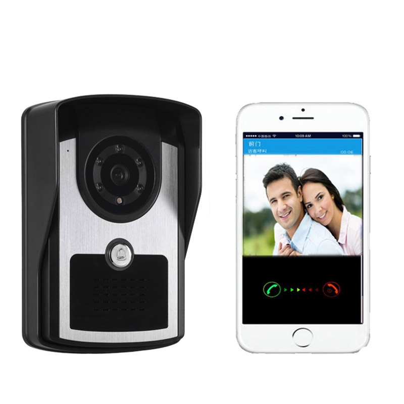 Фотография Waterproof Visible Wireless Home Door Bell Doorbell Remote Control Passwords