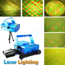 Buy DMX Stage Laser Stage Lighting Effect,Projector Strobe Lighting soundlights Mini DJ Disco Party Light R&B Laser Stage Lights for $15.84 in AliExpress store